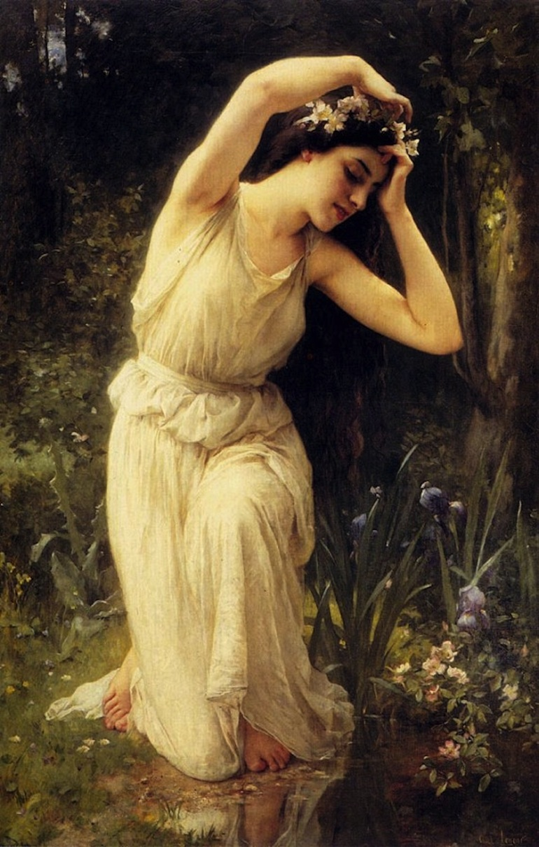 A_Nymph_in_the_Forest - 570 x 896