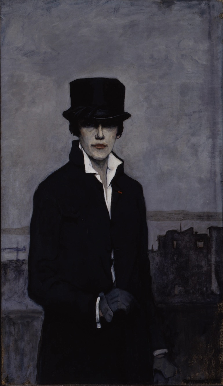 Romaine-Brooks-Self-Portrait-1923