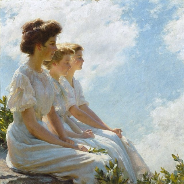Picture of the day : Charles Courtney Curran
