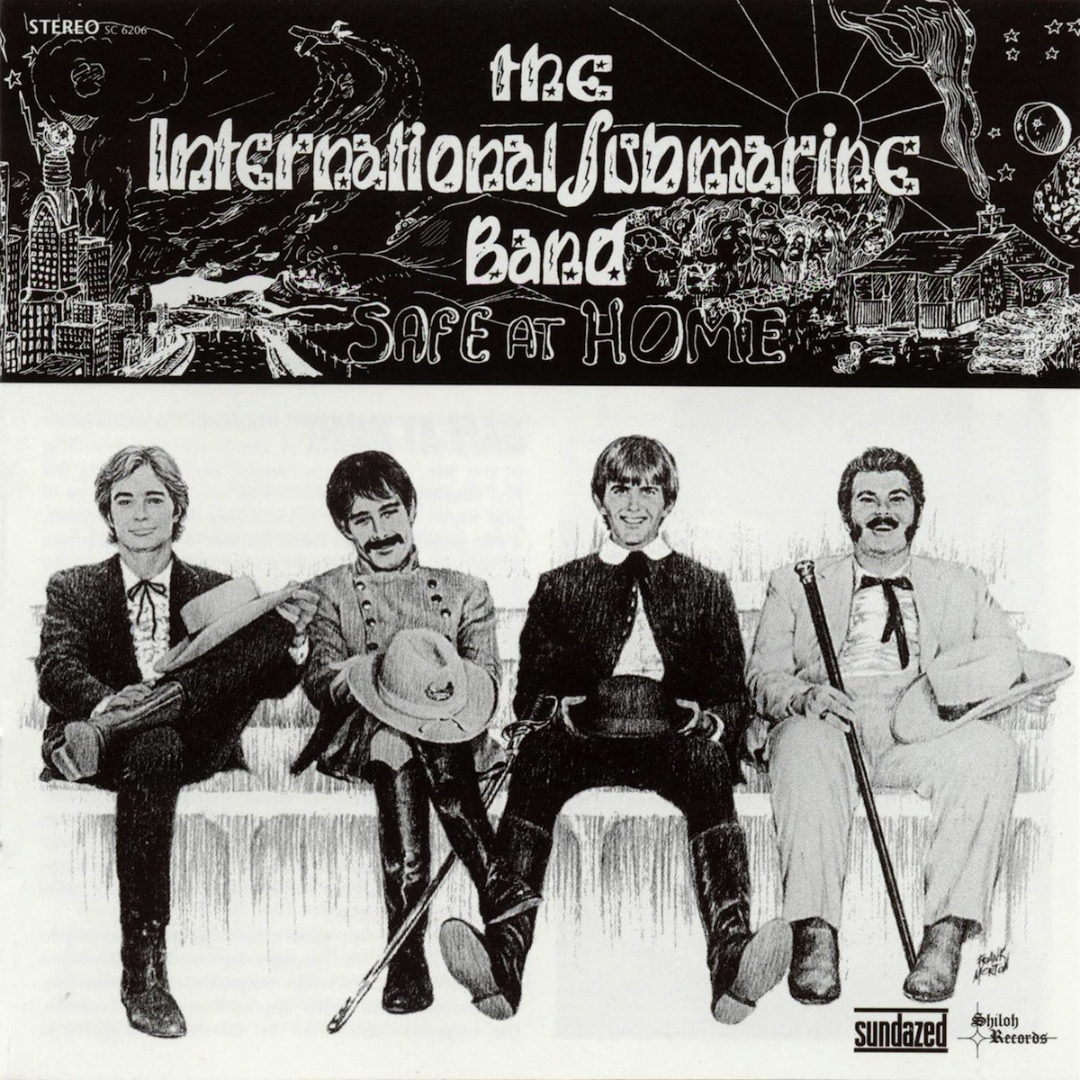 the international submarine band - safe at home 1968 front large new