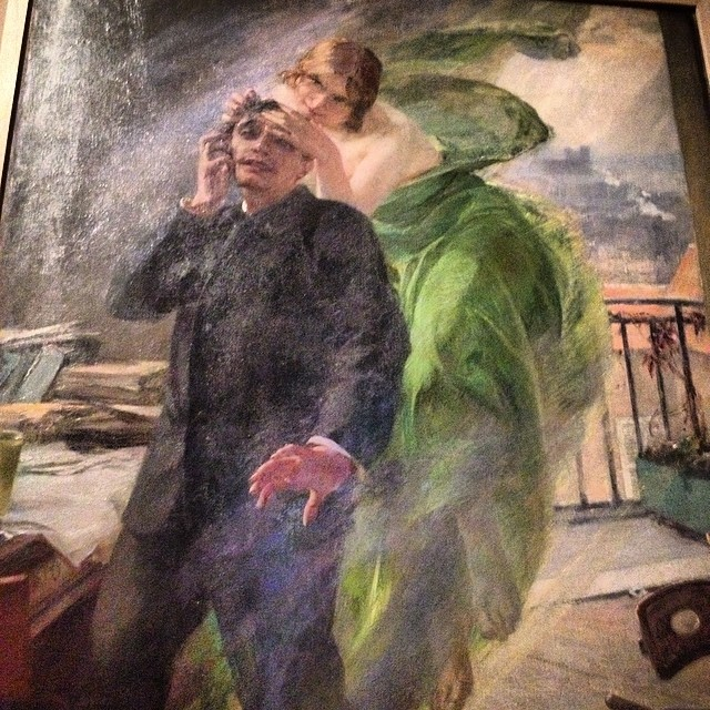 La muse verte #expo1900 #latestagram