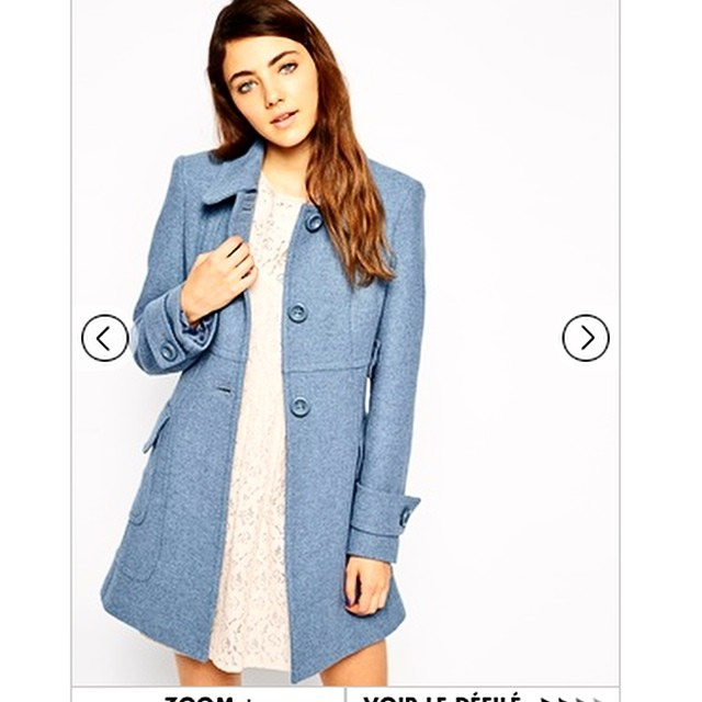Hello beautiful dream @asos_fr  you are now mine ! But Im sad because both of my sizes were gone so I hope that it will still look good on me in 38 ? (took the last one in this size actually !)