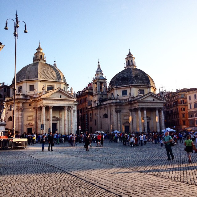 Memories of Rome : Piazza del Popolo ??