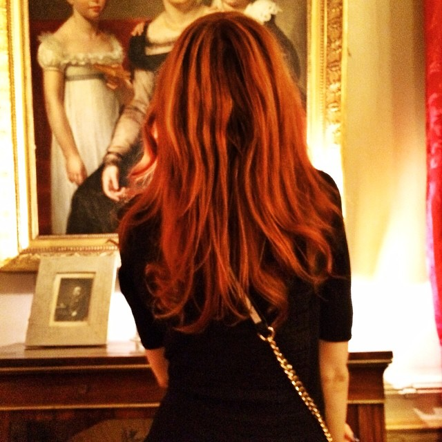 Looks like Im a redhead again ??? Picture by @estelleblogmode