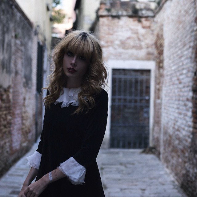 On the blog ! Shot in Venezia with @paulinedarley ? and @pablo_officiel (link ? profile )