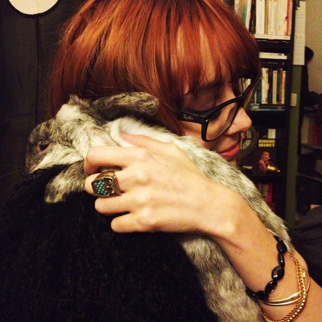 ? love with @napiras' rabbit named Rudolph ❤️❤️