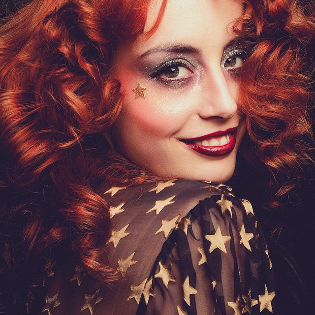 Preview of my glam rock shoot !  Picture by Yasmine Bennis and make-up by Éden Tonda. ⭐️? Ride a White Swan ?⭐️