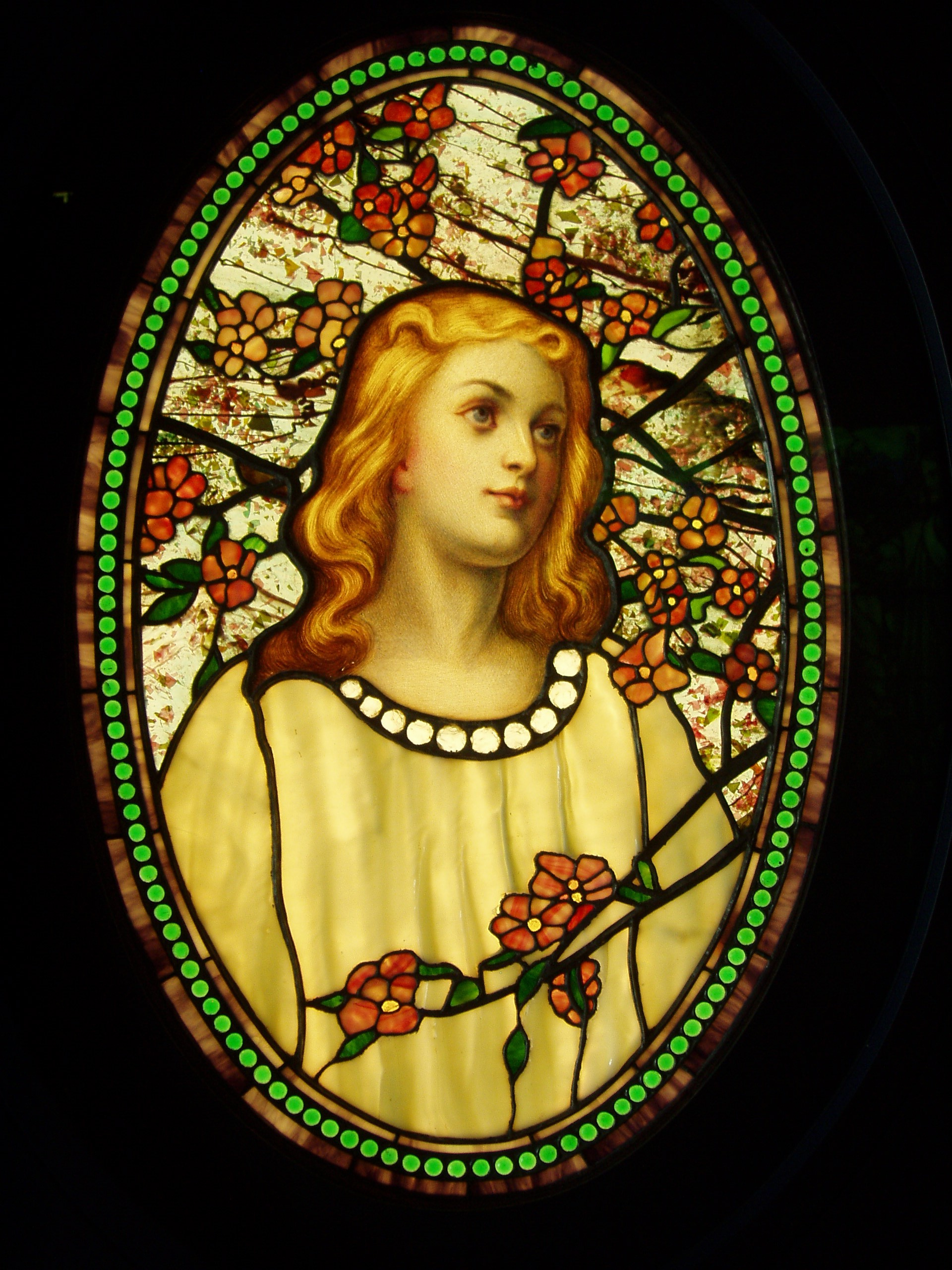 Girl_with_Cherry_Blossoms_-_Tiffany_Glass_&_Decorating_Company,_c._1890