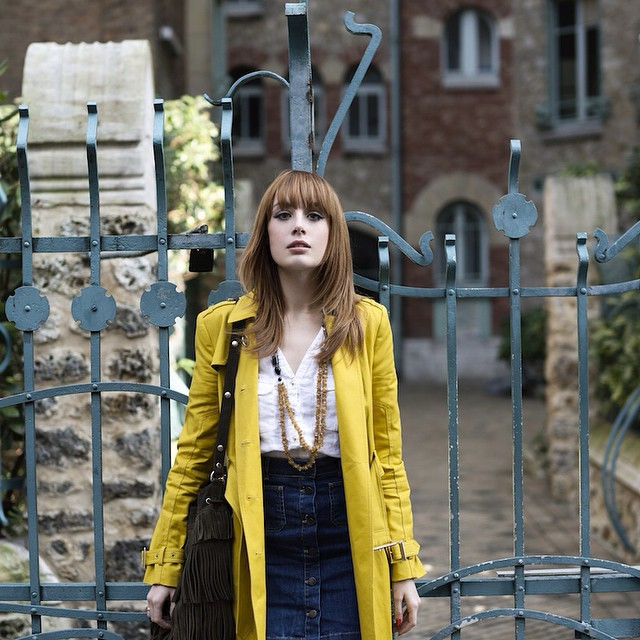 On the blog ! Have a lovely weekend ! Pictures by Pauline Darley, shot in Castel Beranger. ⭐️⭐️⭐️ #imwearingRI