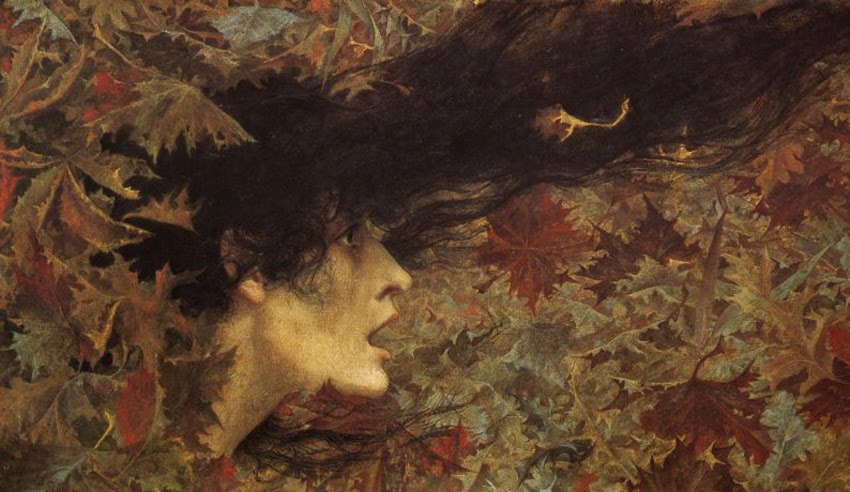 Lucien Lévy-Dhurmer, Gust of Wind