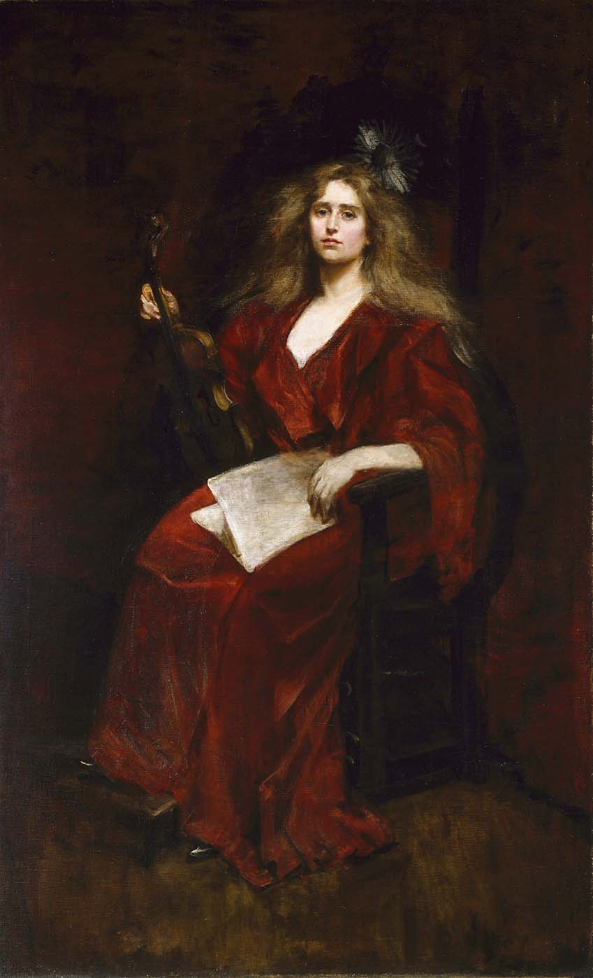 Pike Barney Alice - Natalie with Violin