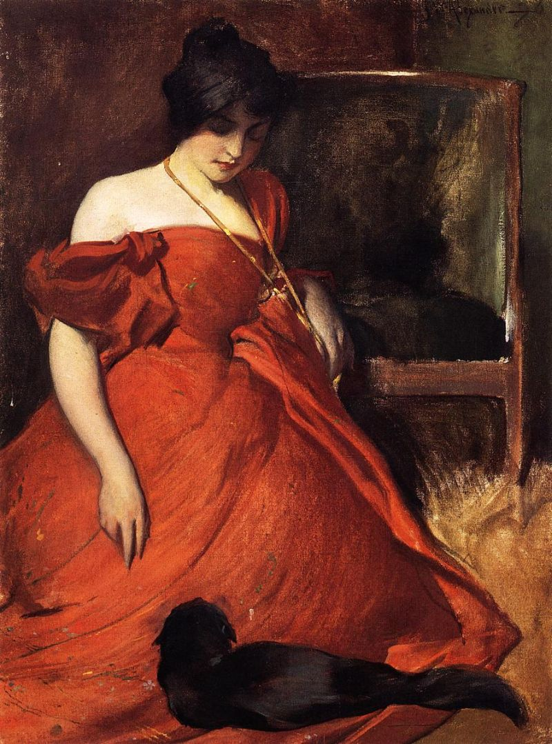 ALEXANDER John White, Black and red