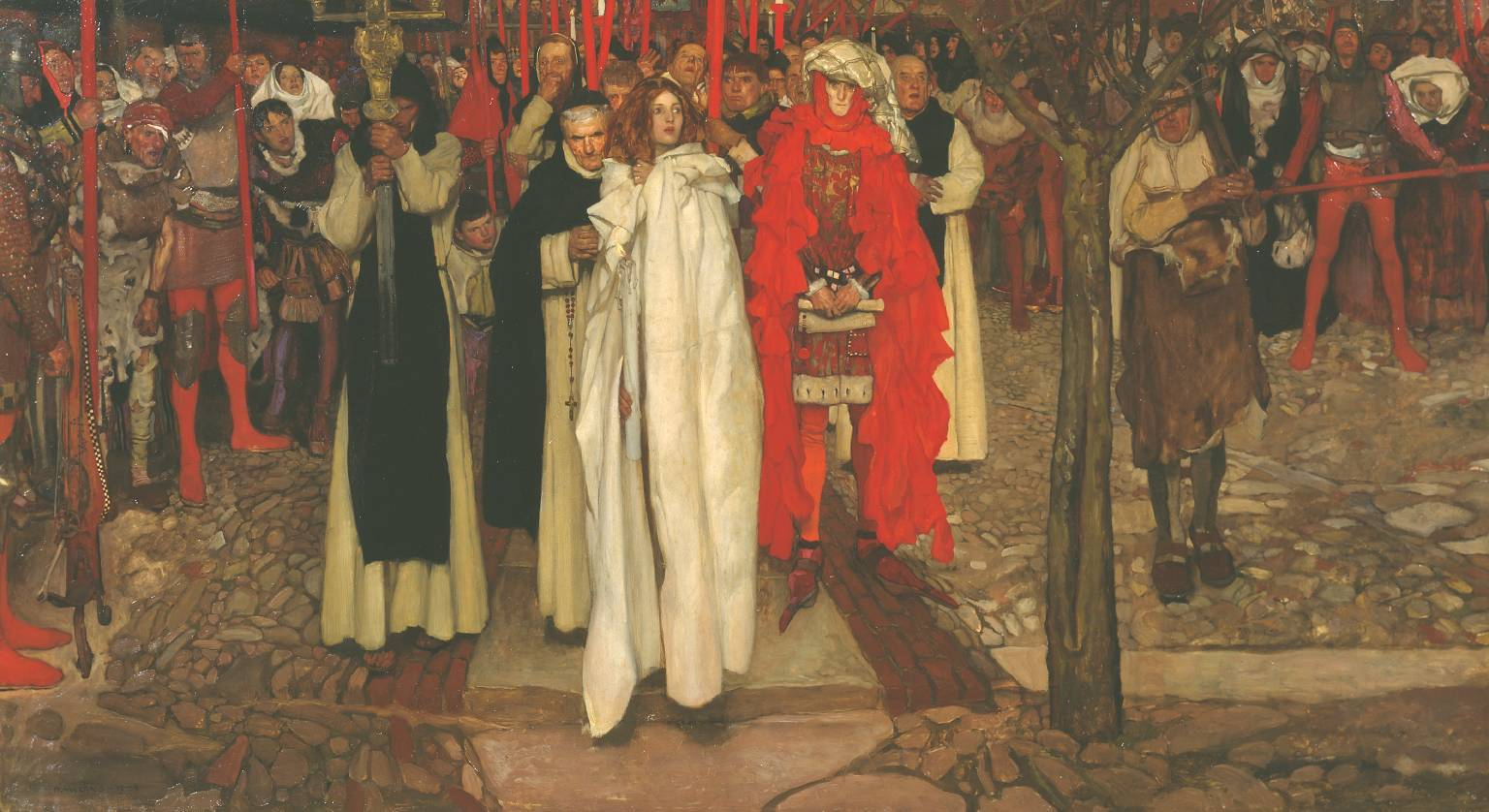 The Heretic 1906 Frank Craig 1874-1918 Presented by the Trustees of the Chantrey Bequest 1906 http://www.tate.org.uk/art/work/N02071