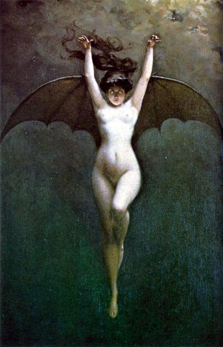 bat-woman-by-albert-joseph-penot