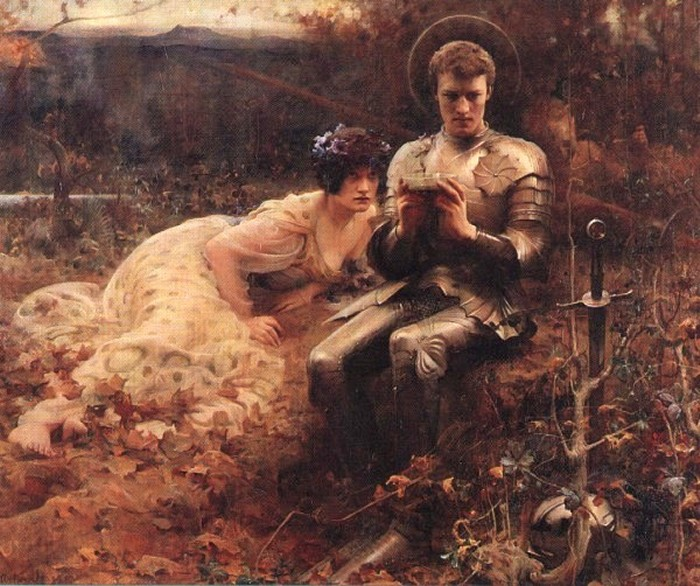 arthur-hacker-the-temptation-of-st-percival-1894-www-goodart-org